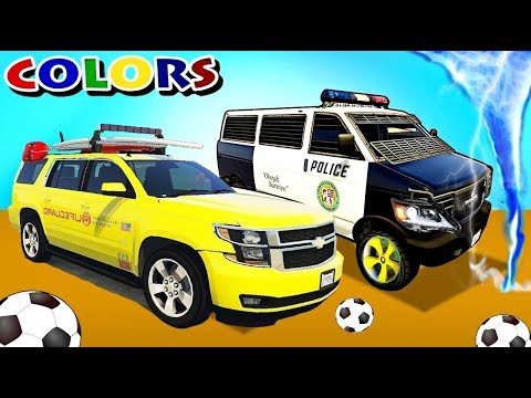 НОВИНКА !! Цветные Веселые Машинки - Трактора с Прицепом Мультик Для Детей