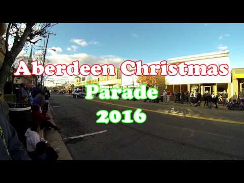 2016 Aberdeen MD Christmas Parade