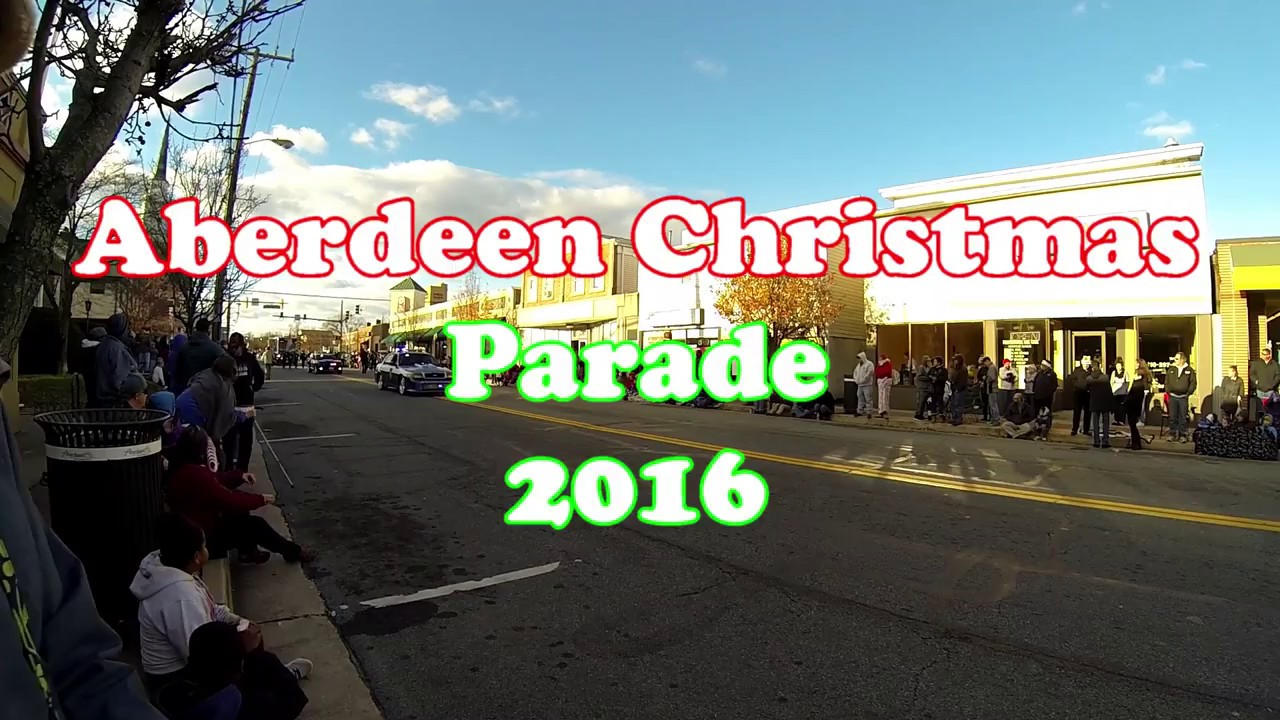 Aberdeen Md Christmas Parade 2020 2016 Aberdeen MD Christmas Parade   YouTube