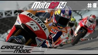 MotoGP 14 Gameplay Career Mode Walkthrough - Part 8 Moto 3 Italian Grand Prix