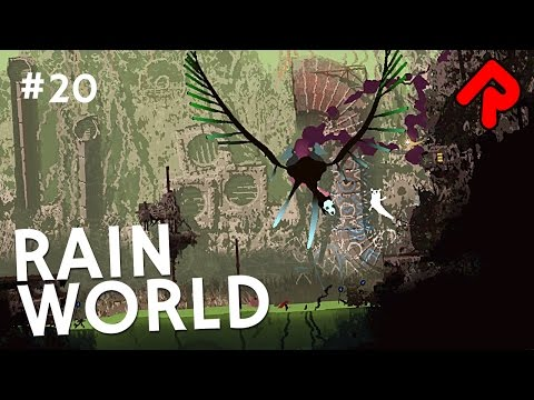 Drainage System & Garbage Wastes to Shoreline | Let's play Rain World gameplay ep 20