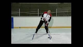 Финт вправо, финт влево. Хоккей. Работа с клюшкой.