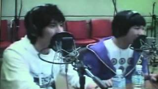 Jumper @ Chin Chin Radio sing Andy's Love Song