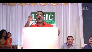 Shaiju Damodaran Sir Speech  - LOGIC School of Management 13th Annual Day & Winners Day