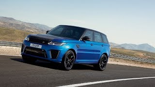 IMPRESSIVE! 2018 RANGE ROVER SPORT SVR FIRST DRIVE REVIEW