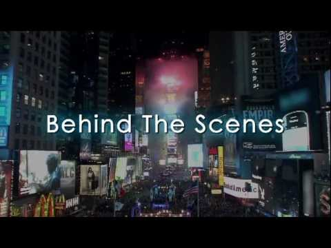 NY Times Square Countdown 2012 - TOSHIBA VISION behind the scenes