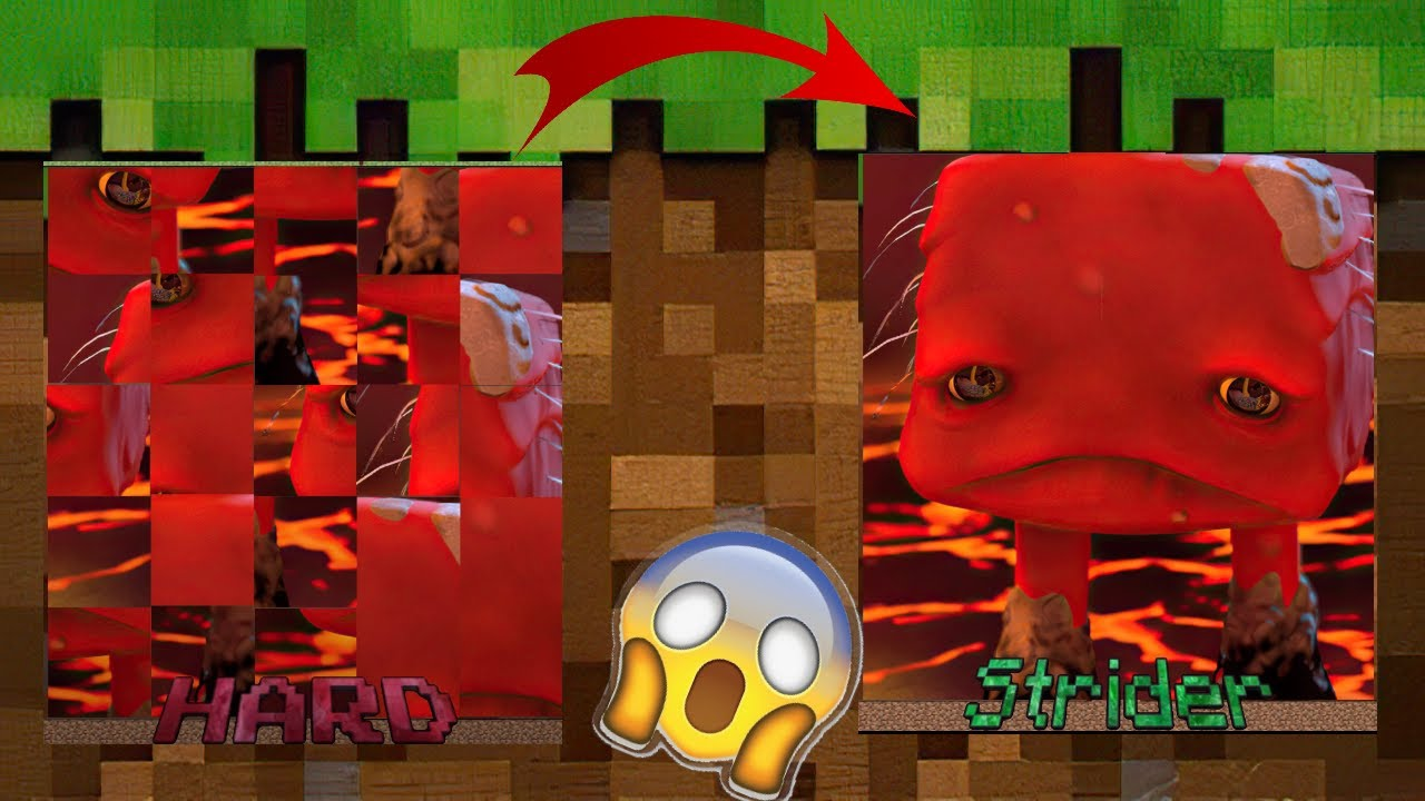 MINECRAFT MOBS IN REAL LIFE  CURSED IMAGES !!! # 4 -  FUNNY PUZZLE 2