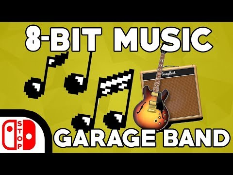 How To Make 8-BIT Music and SFX In GARAGE BAND (2017)