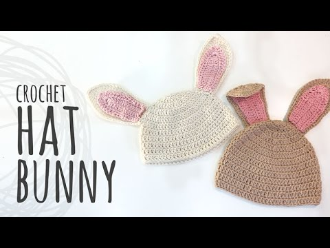 Tutorial crochet bunny hat for easter all sizes youtube tutorial crochet bunny hat for easter all sizes dt1010fo