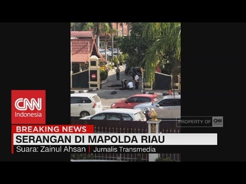 Breaking News! Mapolda Riau Diserang Terduga Teroris
