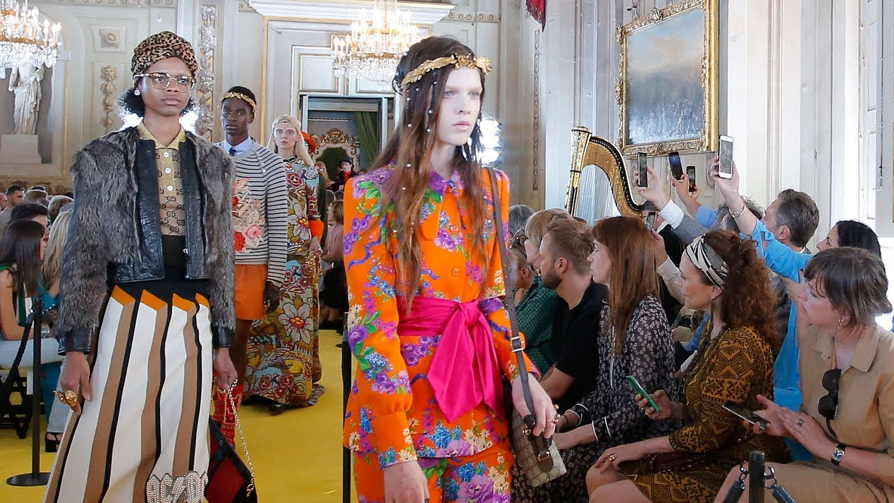 Gucci Cruise 2018 Full Fashion Show Exclusive Youtube