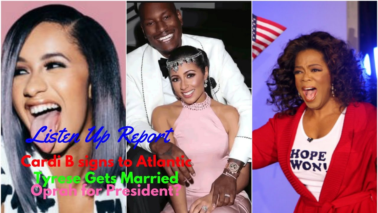 Is Cardi B Engaged To Offset From Migos: Listen Up! Report: Cardi B Signs With Atlantic, Tyrese