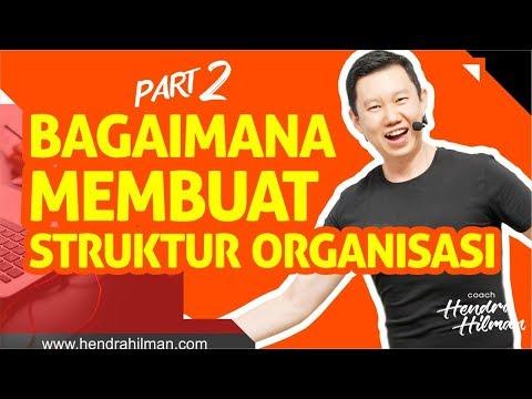Coach Hendra Hilman - Bagaimana Membuat Struktur Organisasi Part 2