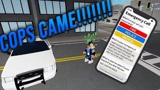 """Mensajes de texto de la policía NLE CHOPPA """"Camelot"""" Letras de la policía de texto Respuesta de Emergencia de Roblox: Condado de Liberty"""