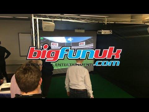 www.BigFunUK.com Rugby Sim Hire