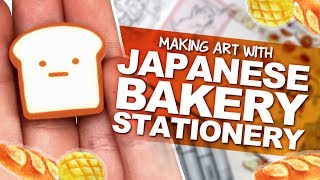 MAKING ART INSPIRED BY ADORABLE JAPANESE STATIONERY | Sumikko Gurashi Bakery | ZenPop! Unboxing