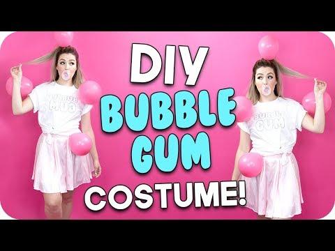 Diy Bubble Gum Costume Youtube