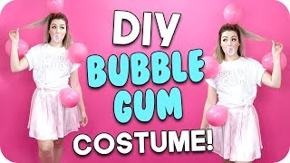 DIY Bubble Gum Costume!