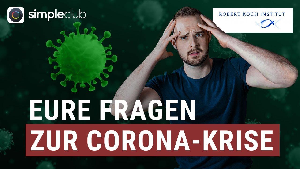 CORONA: Die aktuellsten Fragen beantwortet vom Robert-Koch-Institut! #NetzFragtRKI
