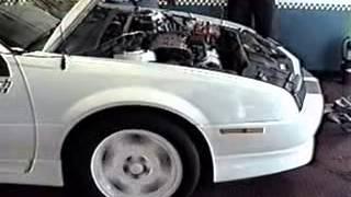 1992 Beretta GTZ Quad 4 W41 Dyno