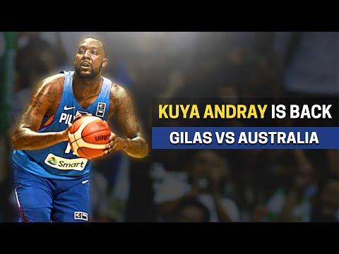 Nandito na ulit si Andray Blatche | Gilas vs Australia | FIBA Asian Qualifiers