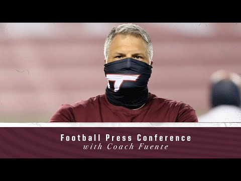 Football Press Conference With Coach Fuente