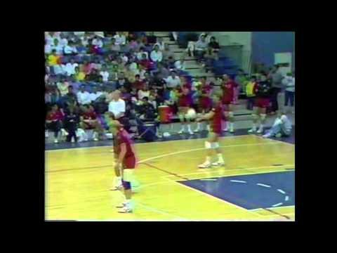 Jared Huffman- USA vs China Volleyball Match 1987