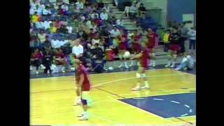Jared Huffman- USA vs China Volleyball Match 1987