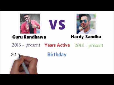 Guru Randhawa Vs Hardy Sandhu - Who Is The Best ?