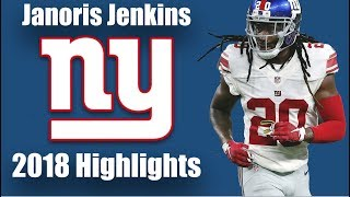Janoris Jenkins || Clamp SZN || 2018 Highlights