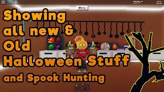 Roblox Lumber Tycoon 2 | Showing all stuff and Spook Hunt | Halloween 2019 Update