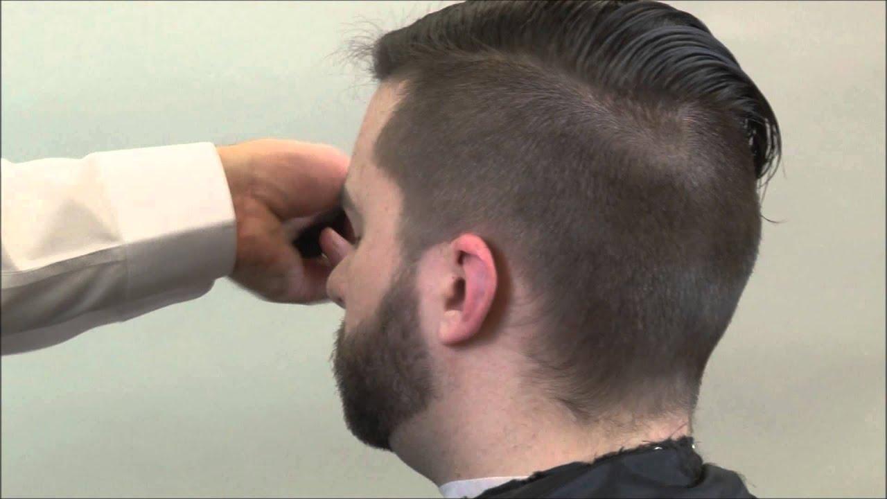 Undercut Hairstyle Boardwalk Empire Hairstyle Part 3 Youtube