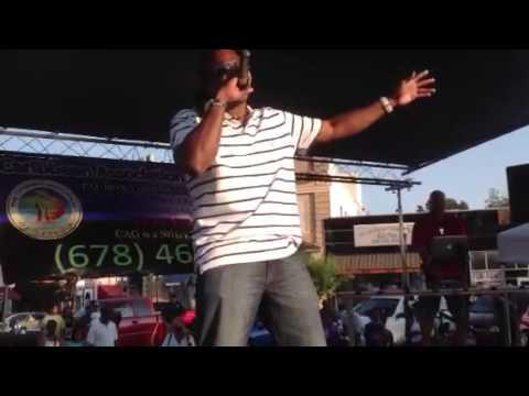 Anthony malvo live at the Atlanta Caribbean cultural festiv