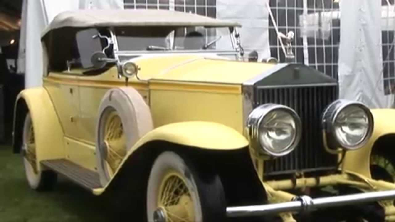 The Great Gatsby, Rolls Royce, Greenwich Concours - YouTube