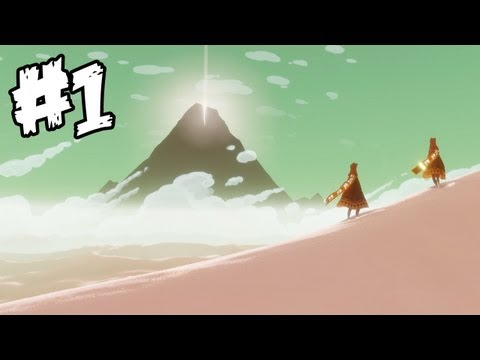 Journey Walkthrough Part 1 - Stunning and Gorgeous! - (PS3 Gameplay & Commentary) HD