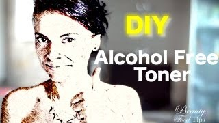 DIY Natural Alcohol Free Toner for Combination, Oily & Acne Prone Skin Thumbnail
