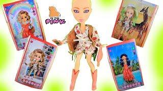 КУКЛЫ - БЛОГЕРЫ! ФОТОЗВЕЗДЫ! #SNAPSTAR! #Одевалки и Игры для Девочек // Май Тойс Пинк