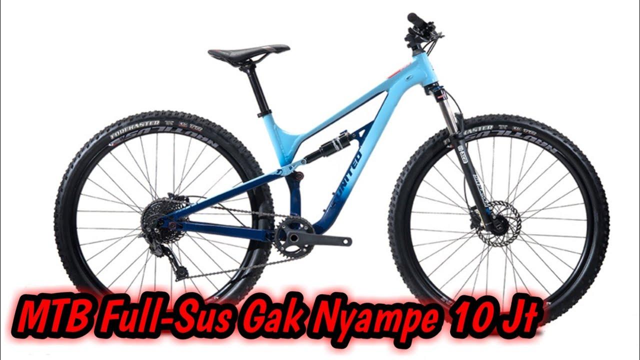Sepeda MTB Full-Sus Murah Gak Nyampe 10 Juta // Polygon