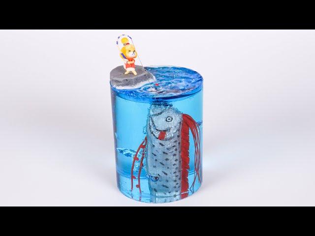 【粘土】しずえさん vs リュウグウノツカイ 作ってみた【あつまれどうぶつの森】Isabelle vs oarfish - Polymer Clay Tutorial