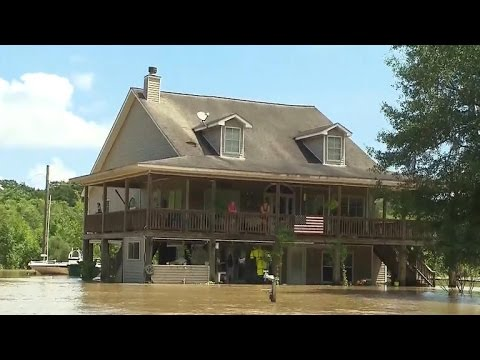Louisiana begins recovery after historic floods