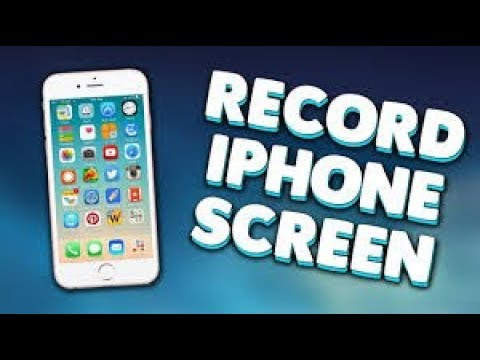 HOW TO RECORD IPHONE SCREEN IOS 9+ FOR FREE NO JAILBREAK *NOVEMBER 2017*