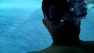 Diving LED Pool Night Saltwater Swimming with Kodak Underwater Camera