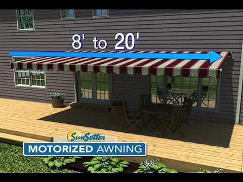 SunSetter Motorized Awning Model