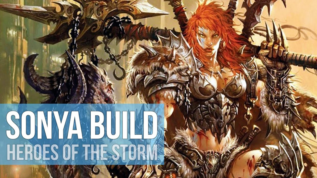 Sonya Hots Build