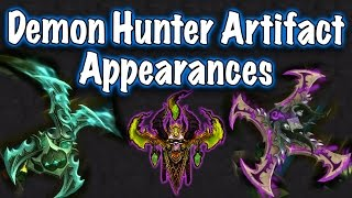 Legion Beta - Artifact Weapon Appearances: Demon Hunter (Jessiehealz)