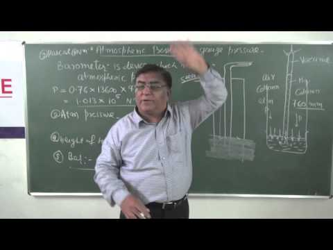 XI-9.4.Barometer(2014)Pradeep Kshetrapal Physics