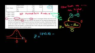 STATISTICS I How To Perform A Wilcoxon Signed Rank Test I Non-Parametric Test On Distributions