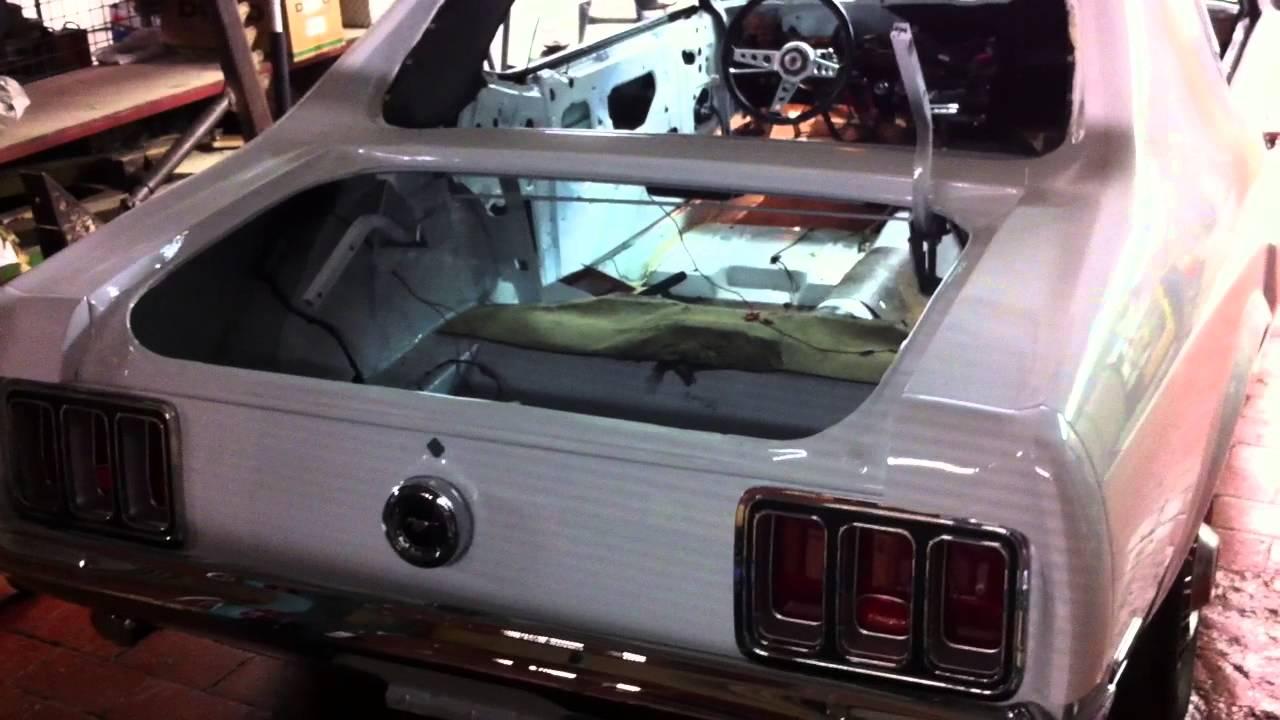 Remote Start Alarm Avital 5303 On Mustang Coupe 1970 Youtube Starter