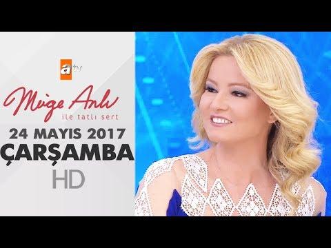 Müge Anlı ile Tatlı Sert 24 Mayıs 2017 Çarşamba - 1851. Bölüm - atv
