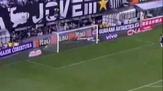 Santos 4 x 5 Flamengo, Show de Neymar & Ronaldinho - Brasileirão 2011